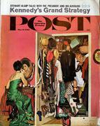 The Saturday Evening Post March 31, 1962 Magazine