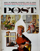 The Saturday Evening Post April 7, 1962 Magazine