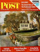 The Saturday Evening Post October 20, 1962 Magazine