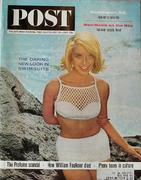 The Saturday Evening Post July 13, 1963 Magazine