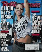 Rolling Stone Magazine November 8, 2001 Magazine