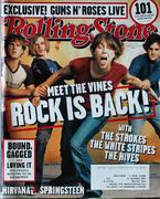 Rolling Stone Magazine September 19, 2002 Magazine