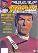 Starlog Magazine January 1987 Magazine