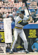 Baseball Digest July 1988 Magazine