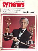 Chicago Daily TV News Magazine May 25, 1974 Magazine
