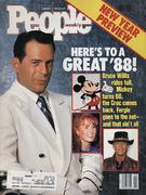 People Magazine January 11, 1988 Magazine
