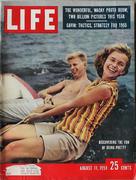 LIFE Magazine August 11, 1958 Magazine