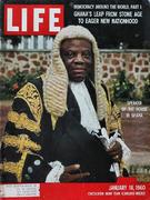 LIFE Magazine January 18, 1960 Magazine