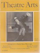 Theatre Arts Magazine March 1942 Magazine