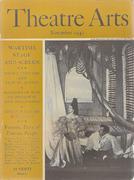 Theatre Arts Magazine November 1942 Magazine