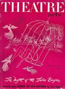 Theatre Arts Magazine March 1953 Magazine
