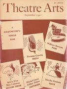 Theatre Arts Magazine September 1942 Magazine