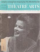 Theatre Arts Magazine June 1960 Magazine