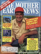 The Mother Earth News Magazine March 1986 Magazine