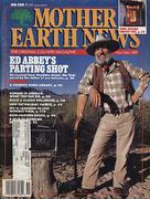 The Mother Earth News Magazine November 1989 Magazine