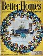 Better Homes And Gardens Magazine August 1957 Magazine