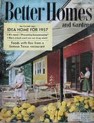 Better Homes And Gardens Magazine September 1957 Magazine