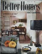 Better Homes And Gardens Magazine February 1954 Magazine