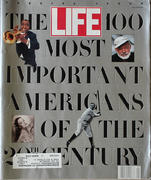 LIFE Magazine Fall 1990 - 100 Most Important Americans Magazine