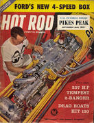 Hot Rod Magazine September 1961 Magazine