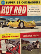 Hot Rod Magazine January 1960 Magazine