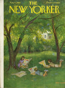 The New Yorker August 12, 1961 Magazine
