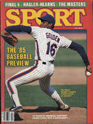 Sport Magazine April 1985 Magazine
