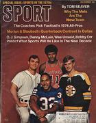 Sport Magazine December 1969 Magazine