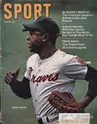 Sport Magazine August 1970 Magazine