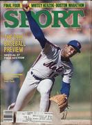 Sport Magazine April 1986 Magazine