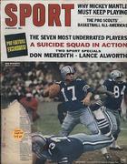 Sport Magazine January 1967 Magazine