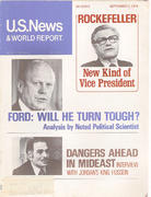 U.S. News & World Report September 2, 1974 Magazine