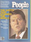 People Magazine April 13, 1981 Vintage Magazine