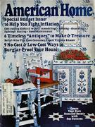 The American Home Magazine January 1975 Magazine