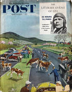 The Saturday Evening Post April 11, 1953 Magazine