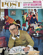 The Saturday Evening Post May 14, 1960 Magazine