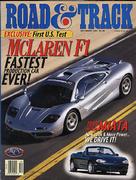Road & Track Magazine December 1997 Magazine