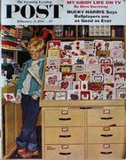 The Saturday Evening Post February 11, 1956 Magazine