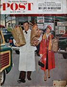 The Saturday Evening Post April 14, 1956 Magazine