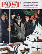 The Saturday Evening Post December 15, 1956 Magazine