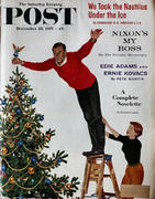 The Saturday Evening Post December 28, 1957 Magazine