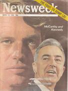 Newsweek Magazine March 25, 1968 Magazine