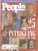 People Magazine December 31, 1990 Magazine