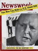Newsweek Magazine February 25, 1957 Magazine