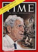 Time Magazine October 20, 1958 Magazine