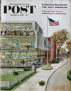 The Saturday Evening Post October 4, 1958 Magazine