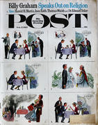 The Saturday Evening Post February 17, 1962 Magazine
