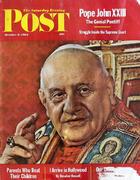 The Saturday Evening Post October 6, 1962 Magazine