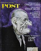The Saturday Evening Post February 10, 1968 Magazine