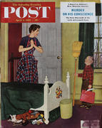 The Saturday Evening Post April 2, 1955 Magazine